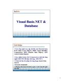 Bài giảng Lập trình ứng dụng Visuabasic: Bài 6 - Phạm Đình Sắc