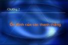 Bài giảng Ổn định công trình - Chương 2: Ổn định của các thanh thẳng