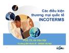 Bài giảng Kinh doanh quốc tế: Chương 7 - PGS.TS. Hà Văn Hội