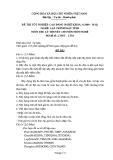 Đề thi & đáp án lý thuyết Lập trình máy tính năm 2012 (Mã đề LT3)