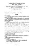 Đề thi & đáp án lý thuyết Lập trình máy tính năm 2012 (Mã đề LT1)