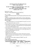 Đề thi & đáp án lý thuyết Lập trình máy tính năm 2012 (Mã đề LT10)