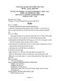 Đề thi & đáp án lý thuyết Lập trình máy tính năm 2012 (Mã đề LT8)