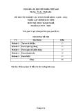 Đề thi thực hành Lập trình máy tính năm 2012 (Mã đề TH5)
