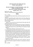 Đề thi & đáp án lý thuyết Lập trình máy tính năm 2012 (Mã đề LT4)