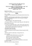 Đề thi & đáp án lý thuyết Lập trình máy tính năm 2012 (Mã đề LT5)