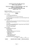 Đề thi & đáp án lý thuyết Lập trình máy tính năm 2012 (Mã đề LT13)