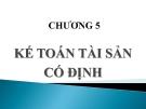 Bài giảng Kế toán doanh nghiệp: Chương 5 - Nguyễn Thị Vân Anh