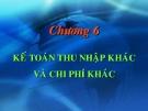 Bài giảng Kế toán doanh nghiệp: Chương 6 - Nguyễn Thị Vân Anh