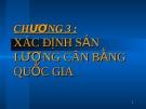 Bài giảng Kinh tế vĩ mô: Chương 3 - TS. Trần Nguyễn Ngọc Anh Thư