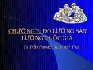 Bài giảng Kinh tế vĩ mô: Chương 2 - TS. Trần Nguyễn Ngọc Anh Thư
