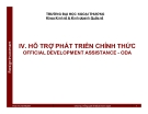 Bài giảng Đầu tư nước ngoài: Chương 4 - Phan Thị Vân