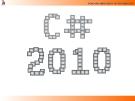 Bài giảng Lập trình C# 2010: Chương 3 - ĐH Công nghệ Đồng Nai