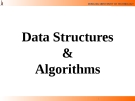 Lecture Data Structures  &  Algorithms: Chapter 2