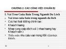 Bài giảng Điều hành hoạt động nhà hàng: Chương 2 - Nguyễn Sơn Tùng