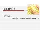Bài giảng Kế toán ngân hàng thương mại: Chương 4 - Nguyễn Thị Hải Bình