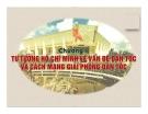 Bài giảng Tư tưởng Hồ Chí Minh: Chương 2 - GV. Lý Ngọc Yến Nhi