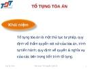 Bài giảng Luật kinh doanh: Bài 18 - ThS. Nguyễn Quốc Sỹ