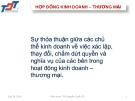 Bài giảng Luật kinh doanh: Bài 14 - ThS. Nguyễn Quốc Sỹ