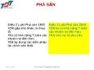 Bài giảng Luật kinh doanh: Bài 13 - ThS. Nguyễn Quốc Sỹ