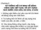 Bài giảng Tư tưởng Hồ Chí Minh: Chương 5 - ĐH Dân Lập Văn Lang