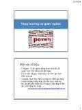 Bài giảng Chính sách phát triển: Bài 7 - Châu Văn Thành