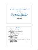 Bài giảng Chính sách ngoại thương: Bài 9 - James Riedel