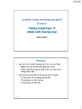 Bài giảng Chính sách ngoại thương: Bài 10 - James Riedel