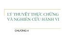 Bài giảng Lý thuyết kế toán: Chương 4 - TS. Trần Văn Thảo