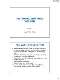 Bài giảng Tài chính phát triển: Bài 13 - Nguyễn Tấn Thắng