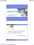 Bài giảng Quản lý công: Bài 2 - Nguyễn Hữu lam