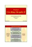 Bài giảng Tài chính phát triển: Bài 5 - Trần Thị Quế Giang