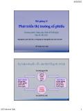 Bài giảng Tài chính phát triển: Bài 12 - Nguyễn Tấn Thắng