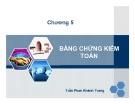 Bài giảng Kiểm toán đại cương: Chương 5 - Trần Phan Khánh Trang