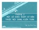 Bài giảng Kiểm toán đại cương: Chương 2 - Trần Phan Khánh Trang
