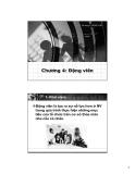 Bài giảng Hành vi tổ chức: Chương 4 - ThS. Phan Quốc Tuấn