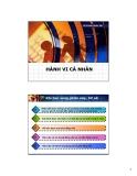 Bài giảng Hành vi tổ chức: Chương 2 - ThS. Phan Quốc Tuấn