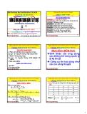Bài giảng Thống kê ứng dụng trong quản lý và kỹ thuật: Chương 1 - PGS. Nguyễn Thống