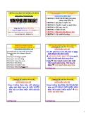 Bài giảng Phương pháp định lượng trong quản lý: Chương 6 - PGS. Nguyễn Thống
