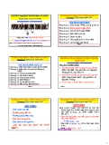Bài giảng Phương pháp định lượng trong quản lý: Chương 2 - PGS. Nguyễn Thống
