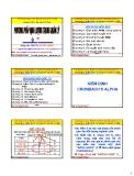 Bài giảng Phương pháp định lượng trong quản lý: Chương 9 - PGS. Nguyễn Thống
