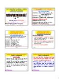 Bài giảng Phương pháp định lượng trong quản lý: Chương 4 - PGS. Nguyễn Thống