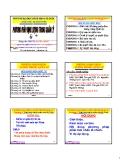 Bài giảng Phương pháp định lượng trong quản lý: Chương 8 - PGS. Nguyễn Thống