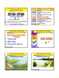 Bài giảng Thủy năng và thủy điện: Chương 5 - PGS. Nguyễn Thống