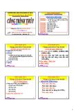 Bài giảng Công trình thủy: Chương 2 - PGS. Nguyễn Thống