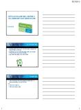 Bài giảng Kế toán tài chính - Chương 8: Kế toán doanh thu, chi phí & xác định kết quả kinh doanh