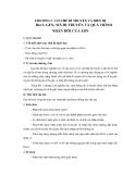 Giáo án Sinh học 12 bài 1: Gen, mã di truyền và quá trình nhân đôi ADN