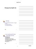 Bài giảng Kinh tế vĩ mô - Chương 2: Lý thuyết cầu