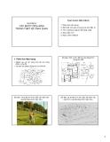 Bài giảng Nguyên lý thiết kế cảnh quan - Chương 4: Các bước tiến hành trong thiết kế cảnh quan