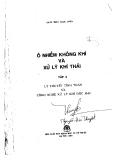 Giáo trình Ô nhiễm không khí và xử lý khí thải (tập 3) - NXB Khoa học kỹ thuật